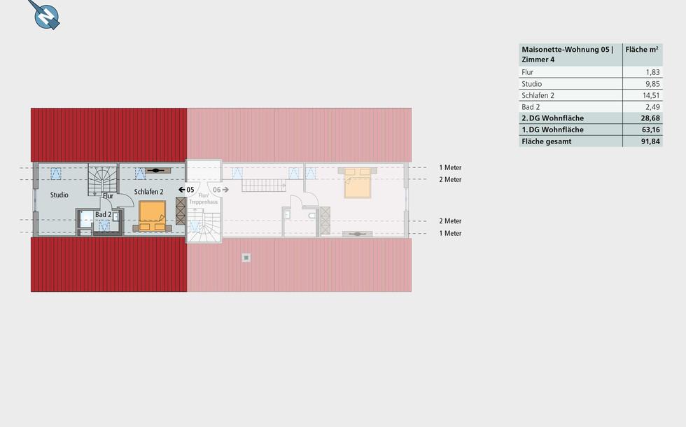 Maisonette-Wohnung 05 | 2. Etage