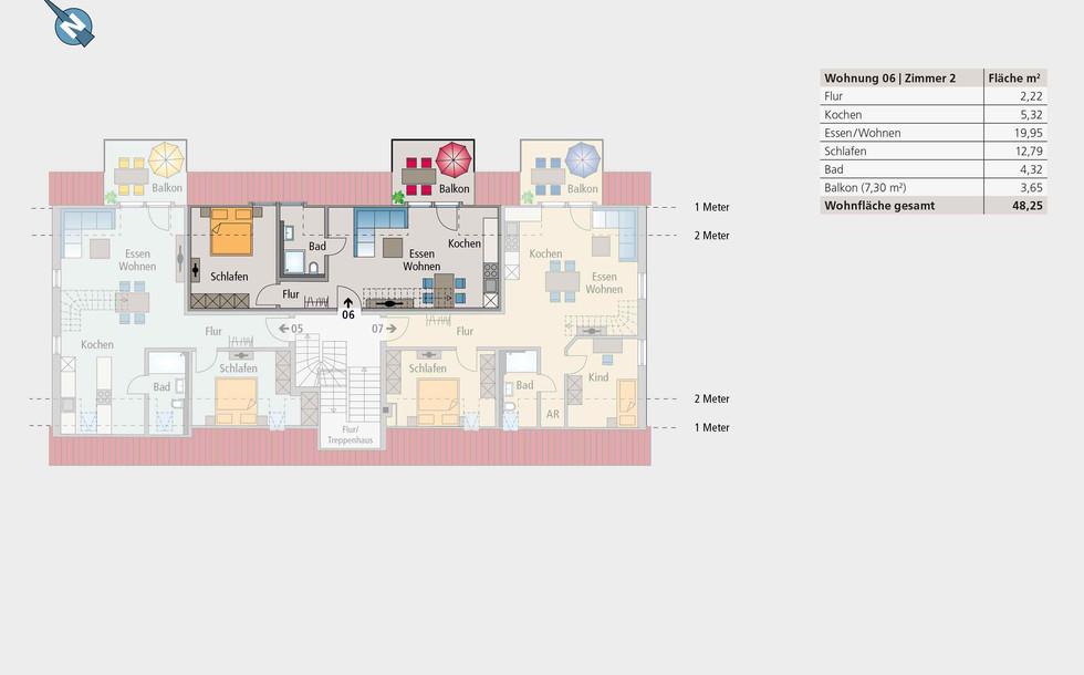 Wohnung 06 | Dachgeschoss