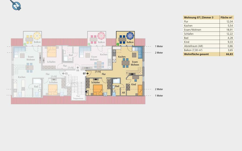 Wohnung 07 | Dachgeschoss