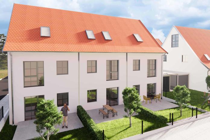 Sonnige Terrassen und Privatgärten