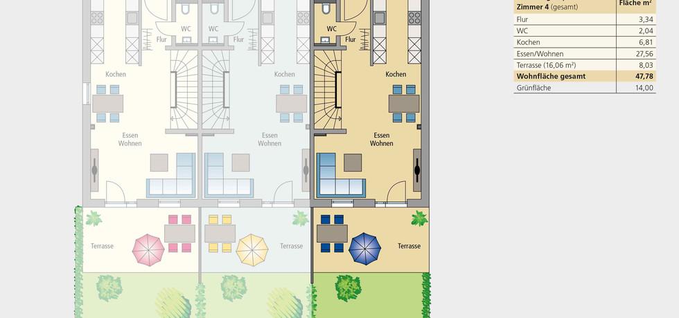 Wohnung 13   Erdgeschoss