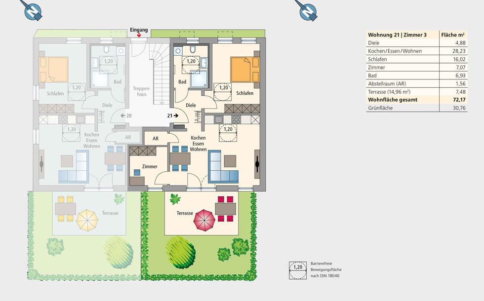Wohnung 21 | Erdgeschoss