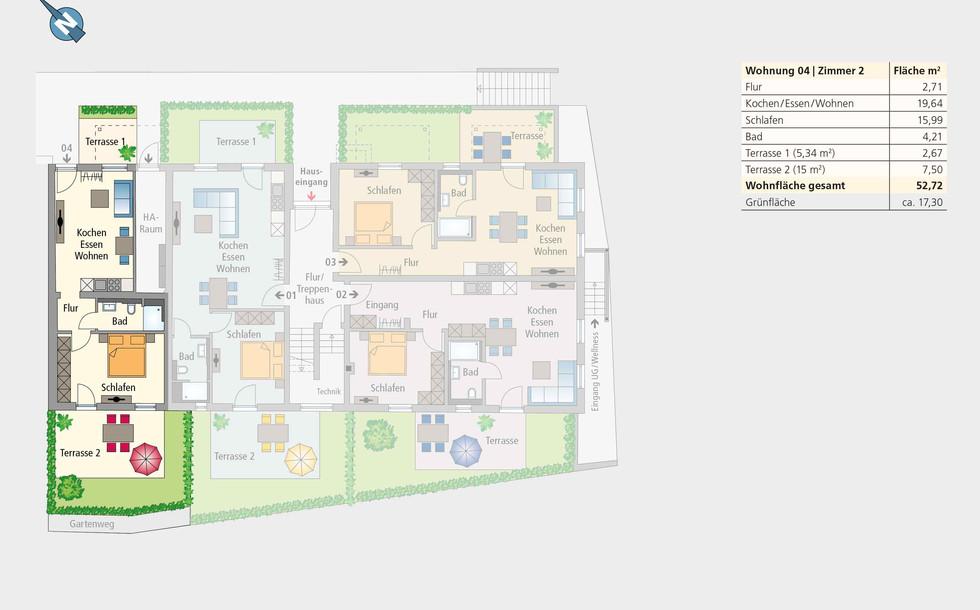 Wohnung 04 |Erdgeschoss