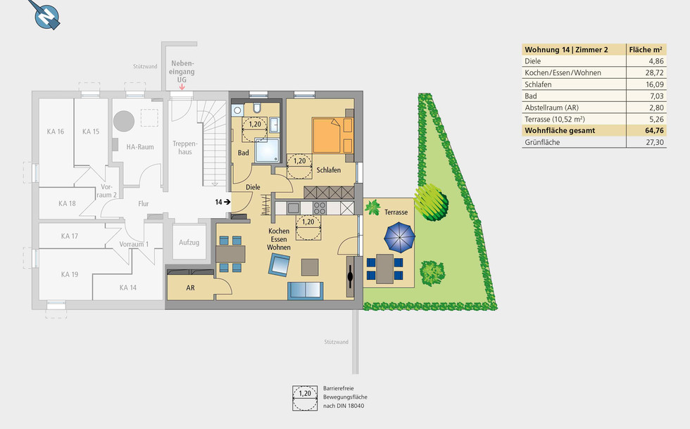 Wohnung 14 | Untergeschoss