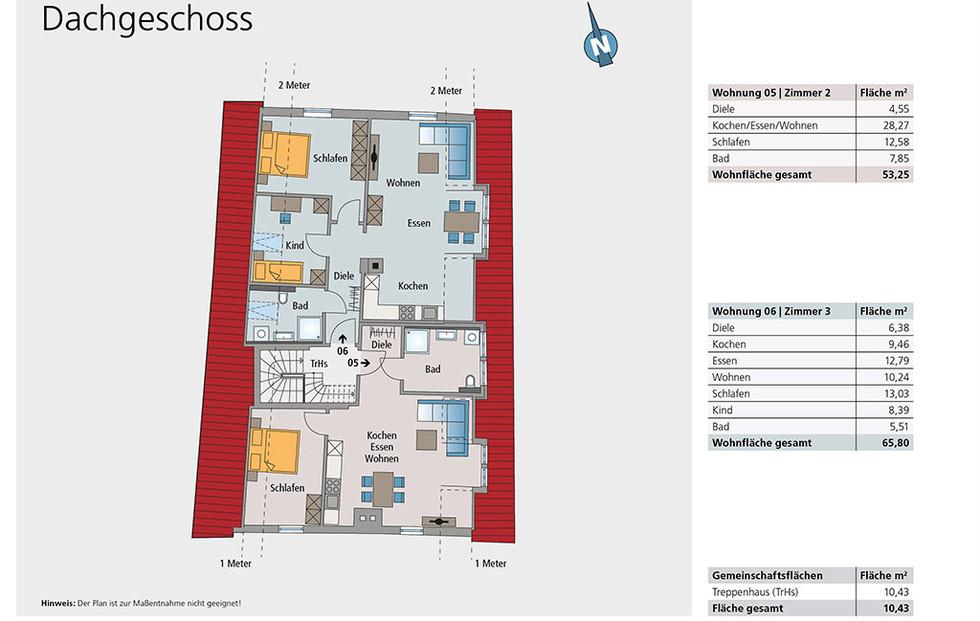 Wohnung 05 und 06 | Dachgeschoss