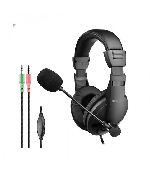 Astrum HS125 Stereo Headset + Mic