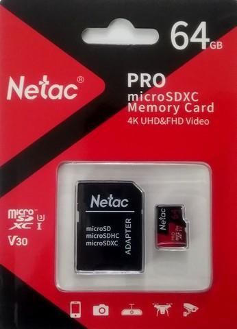 NETAC P500 64GB SD Card