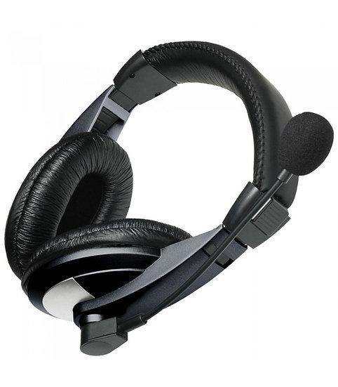 Astrum HS120 Large Stereo Headphone + Mic