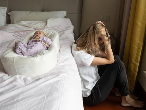Depressão pós-parto atinge cerca de 15% das mulheres