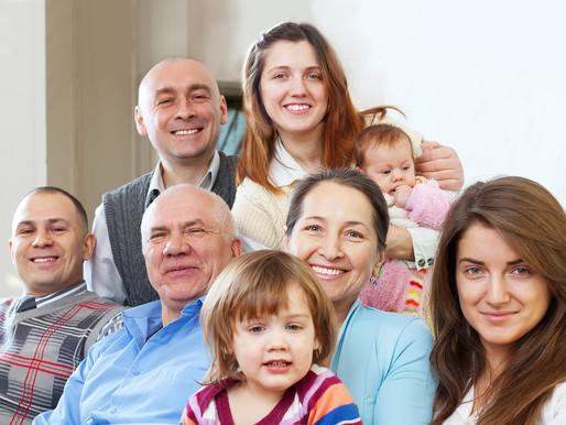 Famílias contam como mantêm a harmonia em um lar cheio de gente