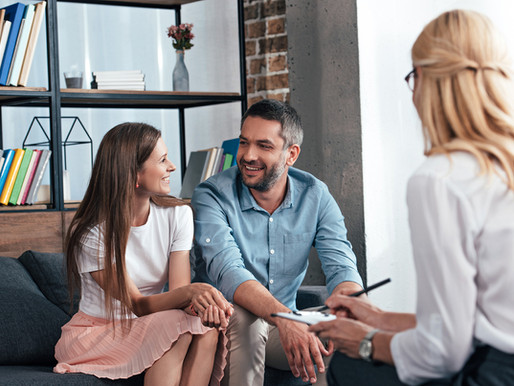 A ajuda da terapia de casal