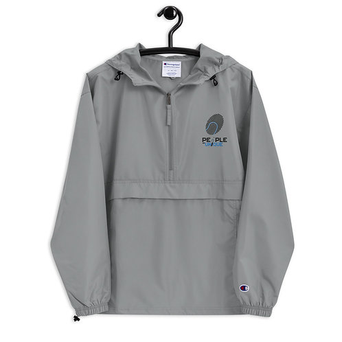 """Embroidered Champion Packable Jacket """"unique"""""""