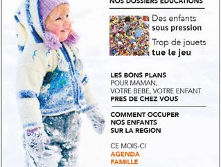 Sortie du dernier Yoyo : le journal des parents du Grand Vaucluse / Dec Janv Fev Mars 2019