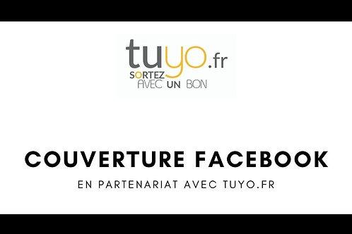 Pub / Couverture un groupe Facebook tuyo.fr