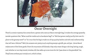 Oscar Overnigh bg