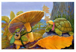Grasshopper and Turtle