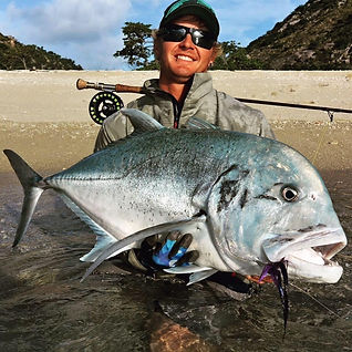 giant trevally fly fishing sage