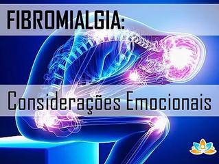 FIBROMIALGIA: Considerações Emocionais