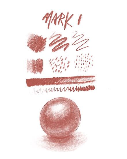 Mark I and Mark II Pencils for Procreate
