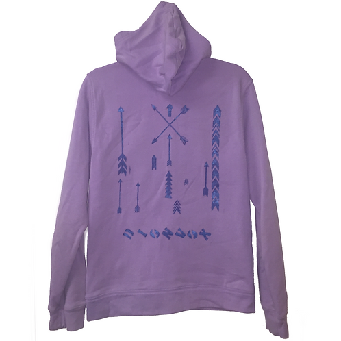 Pink Lavender Hoodie