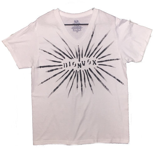 V-neck Sunburst