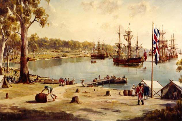 Začetek naseljevanja - Botany Bay
