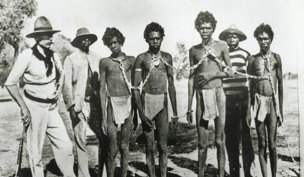 Vklenjeni Aborigini v 19. stoletju