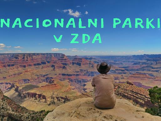 Nacionalni parki v ZDA in najinih TOP 5