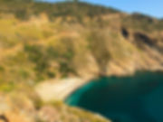 Podplahto: Agios Dimitrios, divje kampiranje na otoku Evia