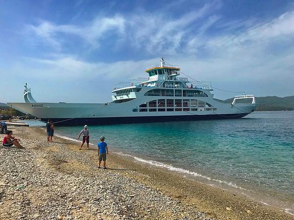 Podplahto: otok Evia, Agiokampos