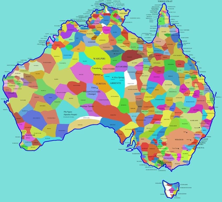 Aboriginski jeziki v Avstraliji