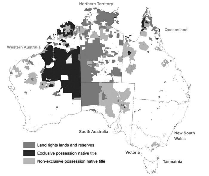 Aboriginska ozemlja se nahajajo globoko v puščavah