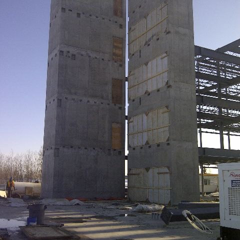 Ross Creek- Stair towers