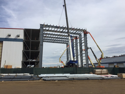 SMS- Primary steel install
