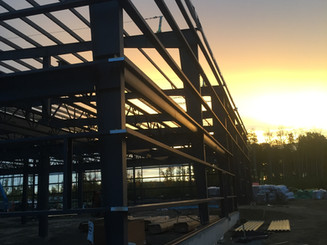 Primary Steel Building install