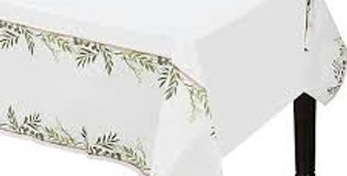 Love & Leaves Paper Tablecover - 1.4m x 2.6m (each)