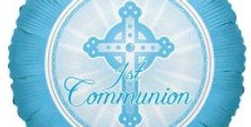 Communion Light Blue 18inch Foil