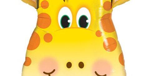 "Birthday Jolly Giraffe Supersize Balloon - 32"" Foil (each)"
