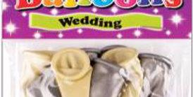 10 Luxury Satin Wedding Balloons