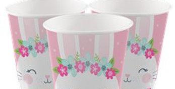Birthday Bunny Cups - 9oz (8pk)