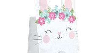 Birthday Bunny Paper Treat Bags (8pk)