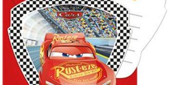 Disney Cars 3 - Invitations & Envelopes (6pk)