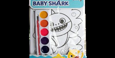 Baby Shark Painting Set