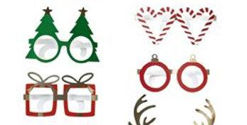 Novelty Fun Paper Glasses (8pk)