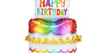 Cake AirLoonz Balloon -Air Fill 53'' Foil (each)