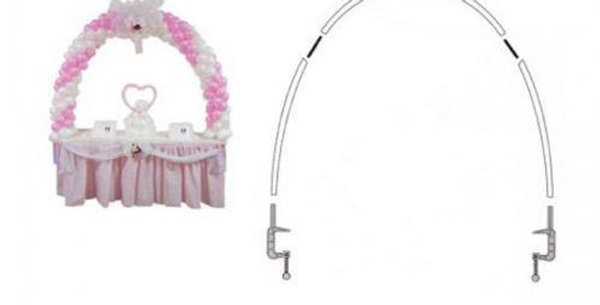 Table arch kit for latex balloons