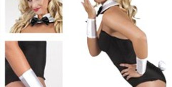 Bunny Set - Adult Costume (each)  includes bunny ears on a headband, smart