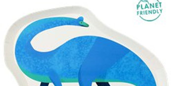 Little Party Dino Shaped Plate (12pk)
