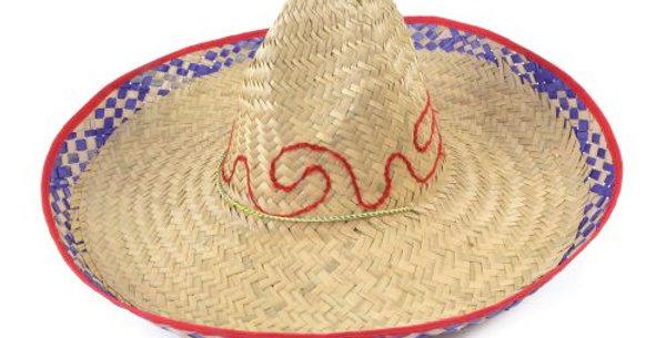 Mexican Straw Sombrero 50 x50cm
