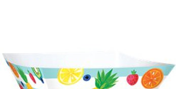 Fruit Salad Serving Bowls  30cm Paper Bowls (3pk)